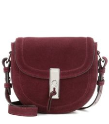 Altuzarra - Ghianda Saddle Mini Suede Crossbody Bag
