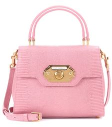 Dolce & Gabbana - Welcome Leather Shoulder Bag - Pink