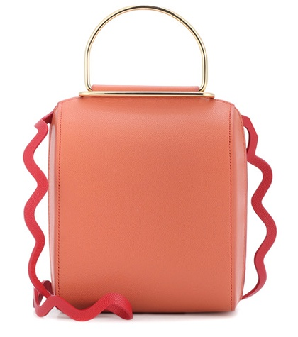 Roksanda - Besa Leather Shoulder Bag - Pink