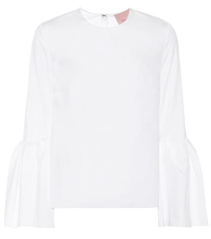 Roksanda - Truffaut Cotton Top - White