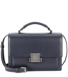 Saint Laurent - Medium Bellechasse Leather Shoulder Bag - Gray