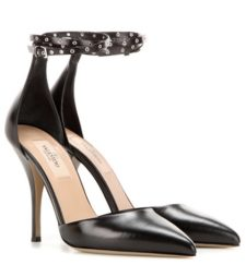 Valentino - Love Latch Mary Jane Leather Pumps