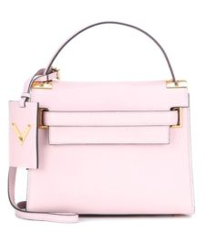 Valentino - My Rockstud Leather Shoulder Bag