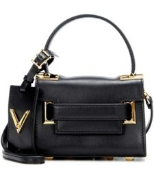 Valentino - My Rockstud Mini Leather Shoulder Bag