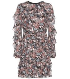 Valentino - Printed Silk Mini Dress