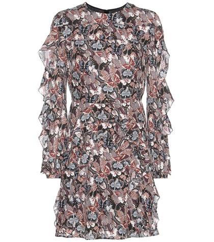 Valentino - Printed Silk Mini Dress