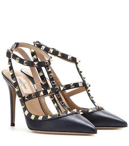 Valentino - Rockstud Leather Pumps