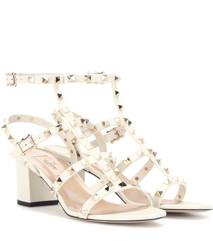 Valentino - Rockstud Leather Sandals