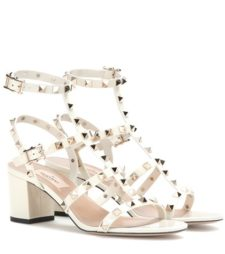 Valentino - Rockstud Leather Sandals