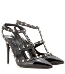 Valentino - Rockstud Patent Leather Pumps
