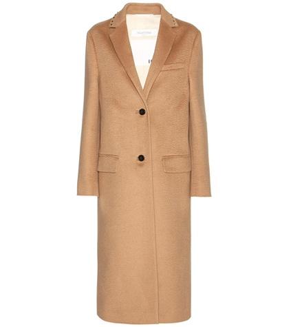 Valentino - Rockstud Untitled Wool Coat