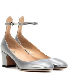 Valentino - Tan-Go Leather Pumps