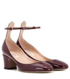 Valentino - Tan-Go Patent Leather Pumps