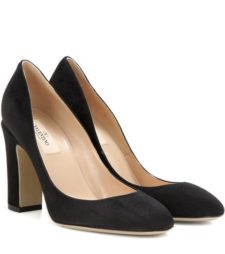 Valentino - Tan-Go Suede Pumps