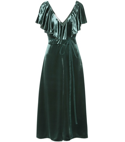 Valentino - Velvet Dress