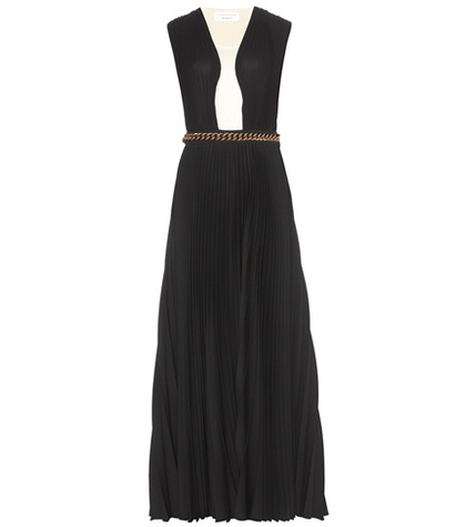 Victoria Beckham - Floor-Length Pleated Gown