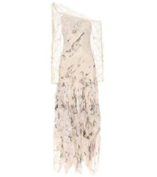 Zimmermann - One-Shoulder Printed Silk Dress