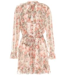 Zimmermann - Printed Silk Playsuit
