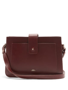 A.P.C. - Albane Leather Cross-Body Bag