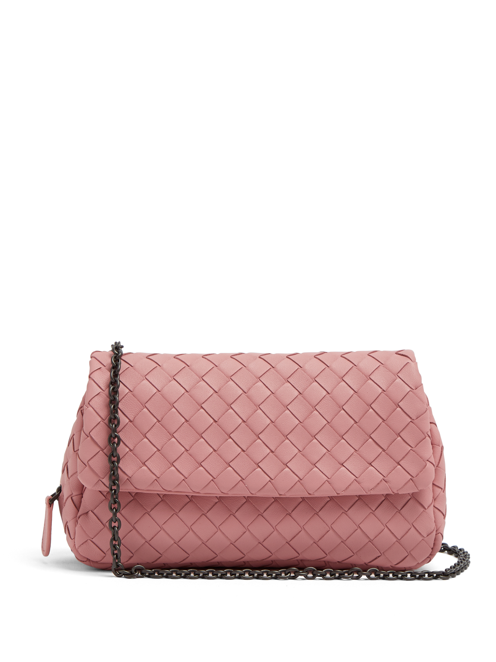 88666c84ff73 Bottega Veneta - Intrecciato Mini Leather Cross-Body Bag