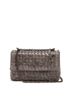 Bottega Veneta - Olimpia Intrecciato Water-Snake Shoulder Bag