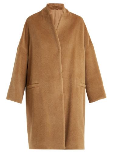 Brunello Cucinelli - Single-Breasted Alpaca Coat