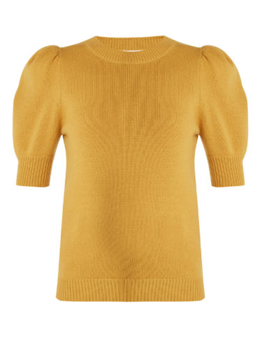 Chloé - Iconic Puff-Sleeved Cashmere Sweater