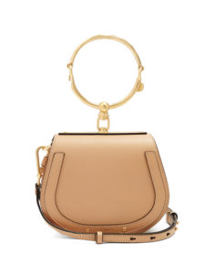 Chloé - Nile Small Leather And Suede Cross-Body Bag