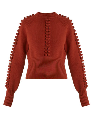 Chloé - Pompom-Embellished Sweater