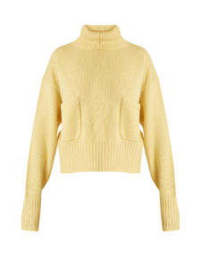 Chloé - Roll-Neck Patch-Pocket Cashmere Sweater