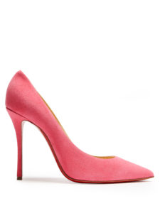 Christian Louboutin - Decoltish 100Mm Suede Pumps