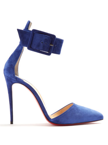 Christian Louboutin - Harler 100Mm Suede Pumps
