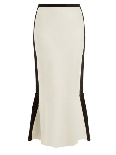 Diane Von Furstenberg - Bi-Colour Wool-Blend Skirt