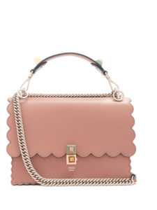Fendi - Kan I Leather Shoulder Bag
