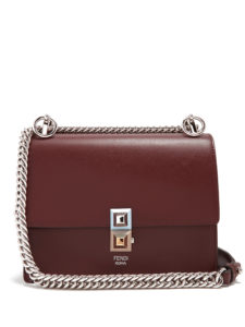 Fendi - Kan I Small Leather Cross-Body Bag