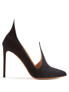 Francesco Russo - Point-Toe Suede Pumps