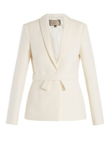 Giambattista Valli - Single-Breasted Shawl-Lapel Wool Jacket