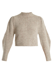 Isabel Marant - Elaya Crew-Neck Knit Sweater
