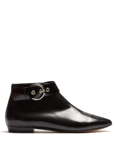 Isabel Marant - Rilows Point-Toe Leather Ankle Boots