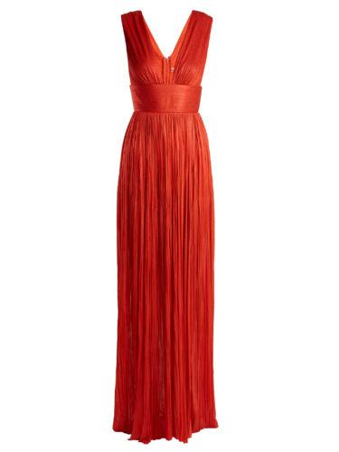 Maria Lucia Hohan - Aurora Pleated Silk-Tulle Gown