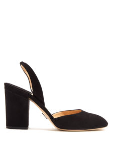 Paul Andrew - Perugia Slingback Suede Pumps