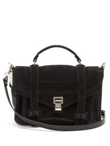 Proenza Schouler - Ps1+ Medium Suede Shoulder Bag
