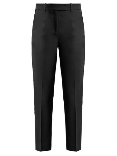 Racil - Aries Contrast-Stripe Slim-Leg Wool Trousers