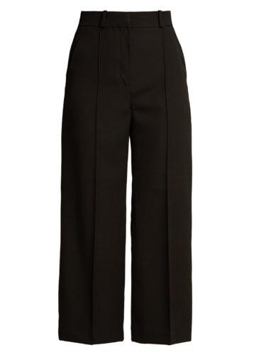 Racil - Warwick Wide-Leg Cropped Wool Trousers