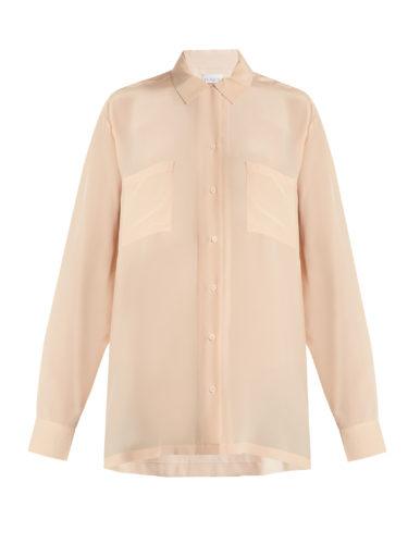 Raey - Two-Pocket Silk Shirt
