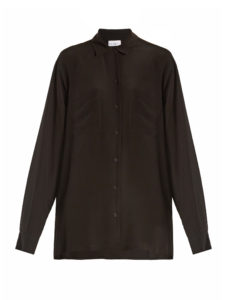 Raey - Two-Pocket Silk Shirt
