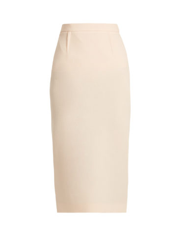 Roland Mouret - Arreton Double-Wool Crepe Pencil Skirt