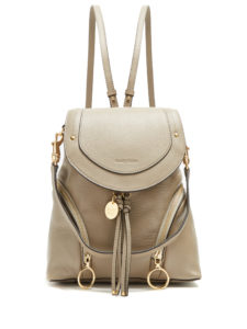 See By Chloé - Olga Medium Grained-Leather Backpack