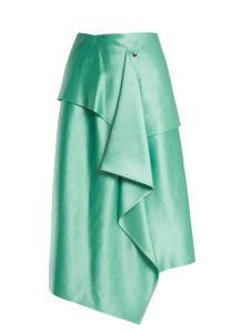 Sies Marjan - Brady Asymmetric Duchess-Satin Skirt