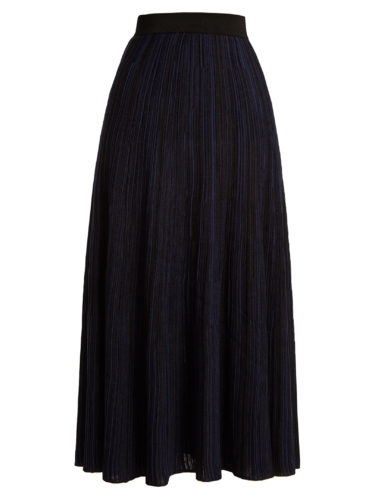 Sonia Rykiel - High-Rise Ribbed-Knit Midi Skirt